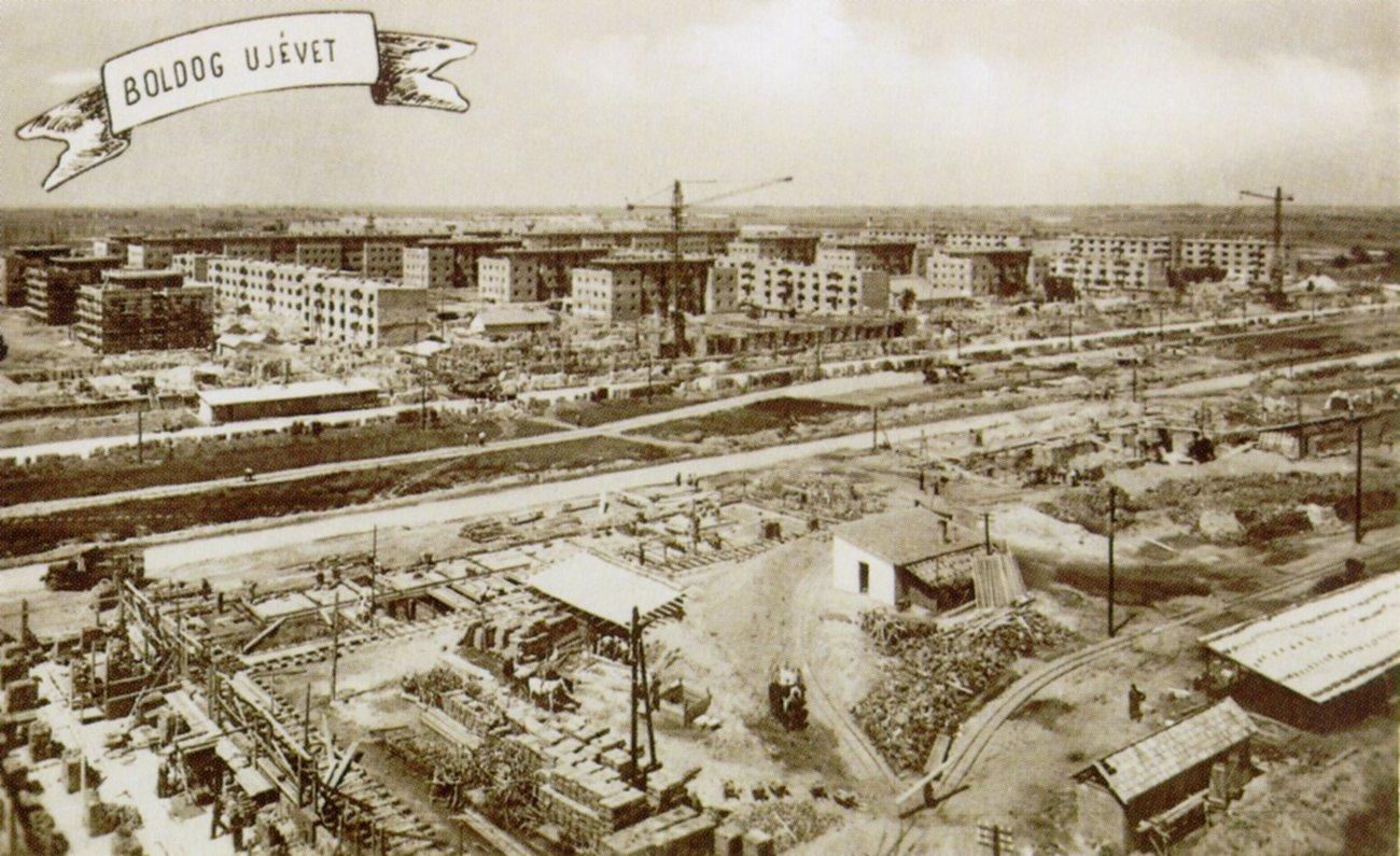 Újévi tervezgetések Sztálinvárosban