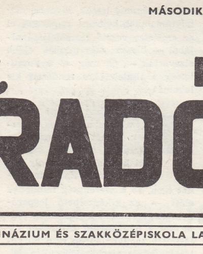 Iskolai híradó – 1969 február