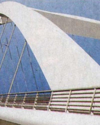 Kosárfüles híd Dunaújvárosnál