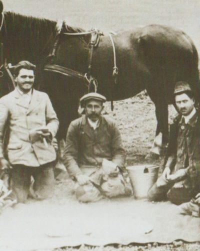 Régi aratások Dunapentelén