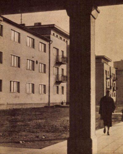 Az ötéves terv első napja Sztálinvárosban