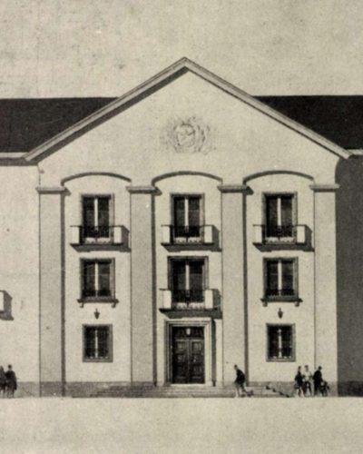 A középületek tervezésének fejlődése a Sztálin Vasmű  városépítésének tükrében