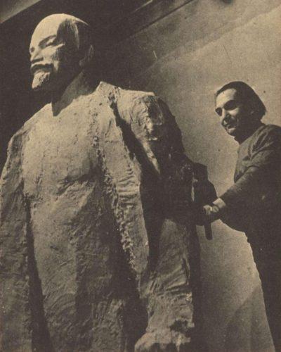Lenin-szobor Dunaújvárosnak