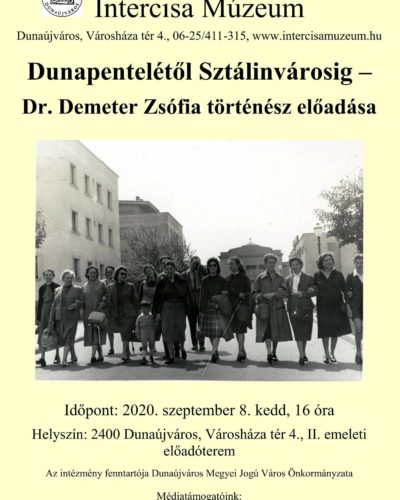 Dunapentelétől Sztálinvárosig, és azon túl