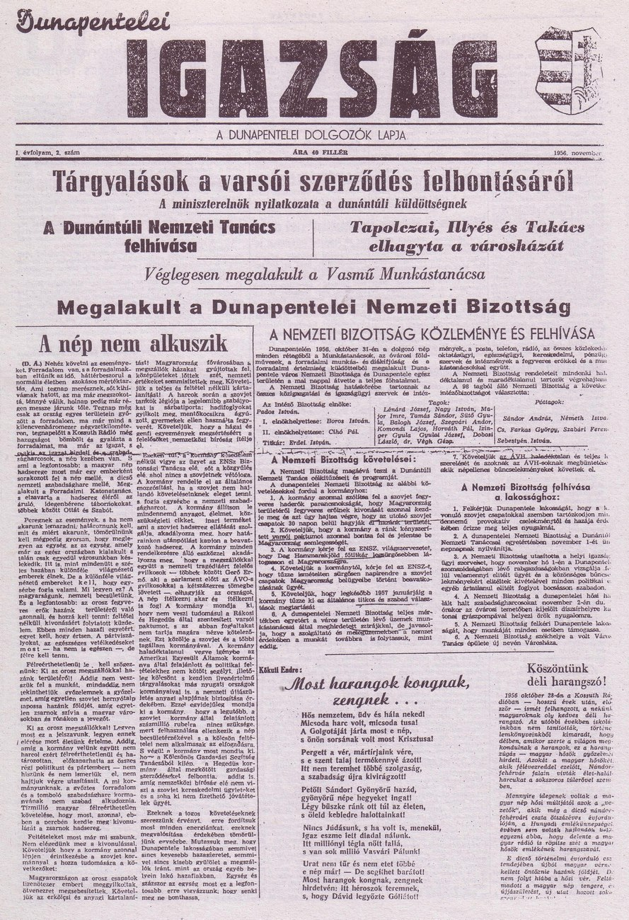 Dunapentele 1956