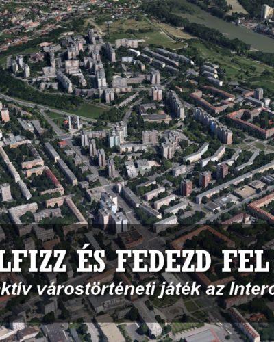 Interaktív várostörténeti játék és Családi Nap