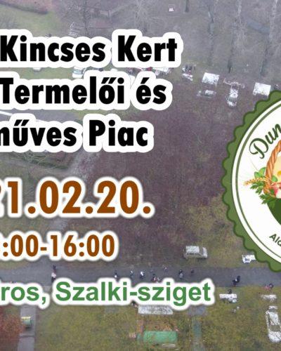 Dunai Kincses Kert Helyi Termelői és Kézműves Piac