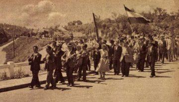 Aratóünnepség Sztálinvárosban