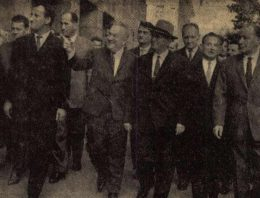 Tito elnök Dunaújvárosban