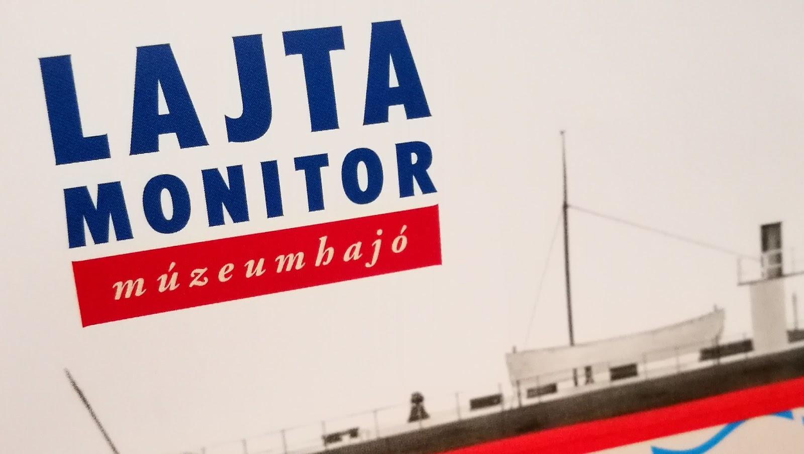 Lajta monitor múzeumhajó Dunaújvárosban