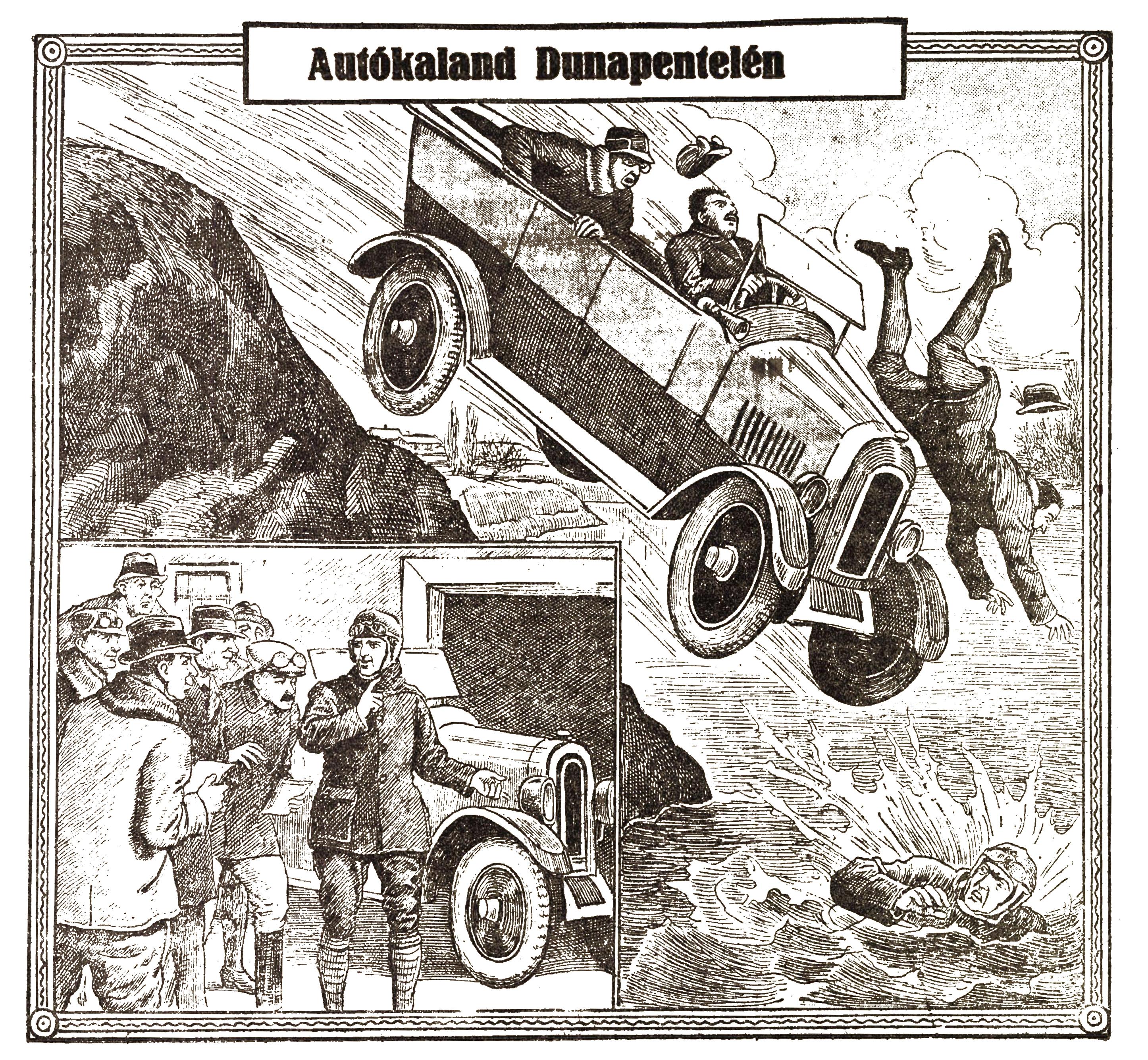 Autókaland Dunapentelén