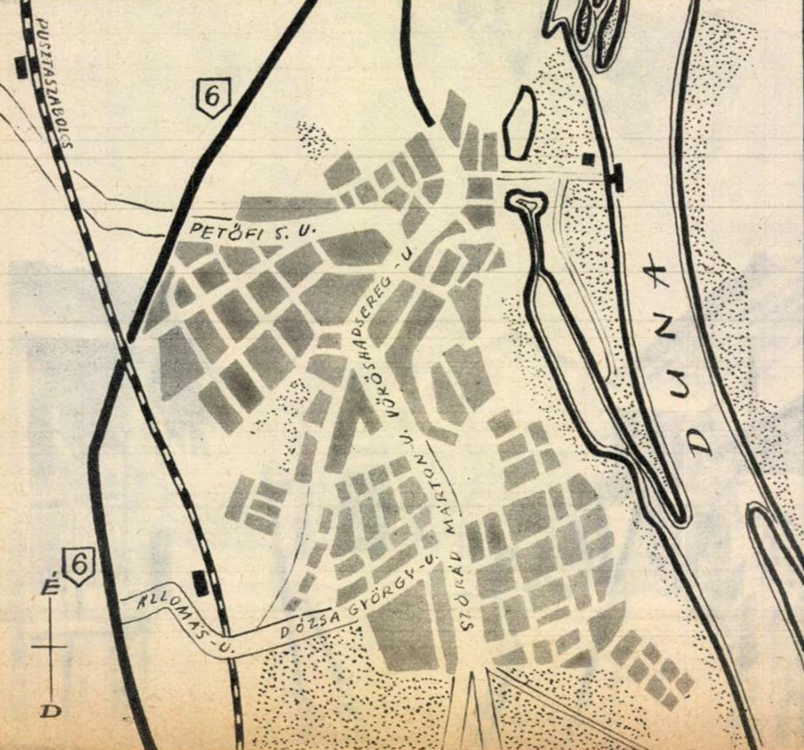 A Duna új városa