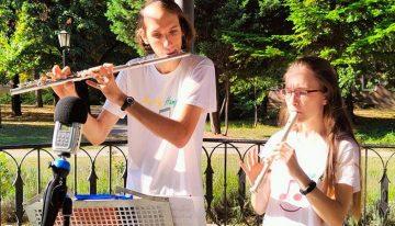 Mosoly Hangok koncert a zenepavilonból